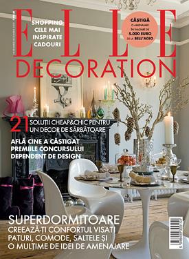 ELLE Decoration Noiembrie-Decembrie 2009