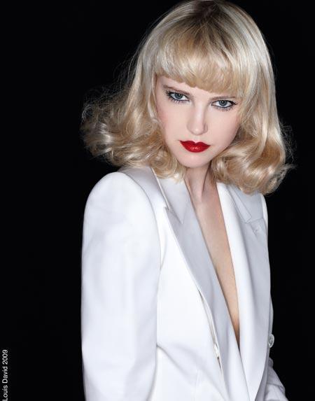 Coafuri propuse de hair stilist-ul Jean Louis David pentru iarna 2010
