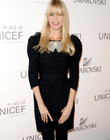 Claudia Schiffer. noua imagine Chanel