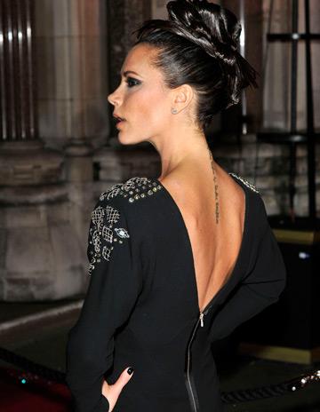 Vedete pe covorul rosu, la British Fashion Awards