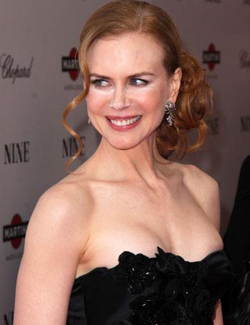 Nicole Kidman si nasul sau pudrat