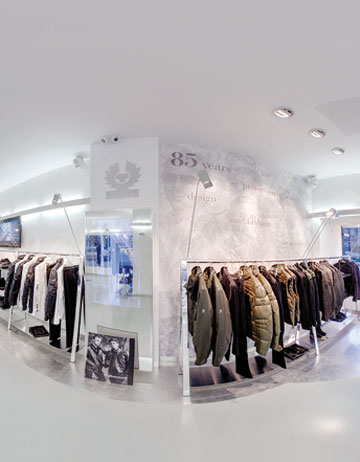 Belstaff, primul flagship store din Rom