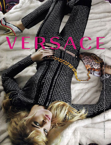 Georgia  May Jagger, imaginea Versace