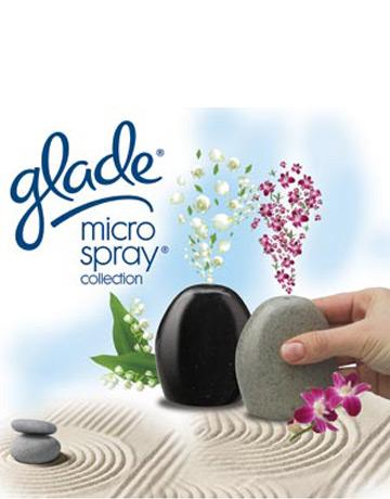 Noul odorizant de camera Glade Microspray Collection