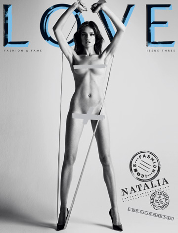 8 modele se dezbraca pe coperta revistei Love