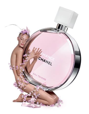 Noul parfum Chanel: Chance Eau Tendre