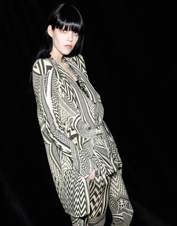 Fashion in alb si negru