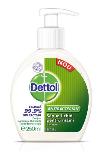 Dettol – pentru protectia impotriva bacteriilor si virusurilor