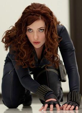 Scarlett Johansson incantata de colaborarea cu Robert Downey Jr.