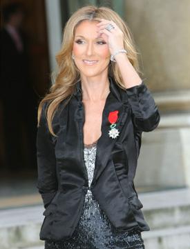 Celine Dion insarcinata
