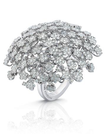 Inel din aur alb cu diamante Pasquale Bruni