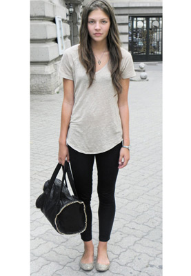 Look casual & chic