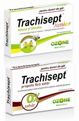 Trachisept – solutia 100% naturala pentru calmarea durerilor de gat