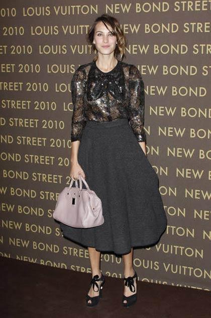 Alexa Chung, cea mai bine imbracata celebritate
