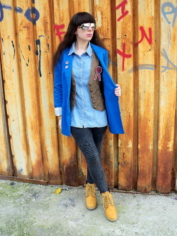 Blazer & jeansi