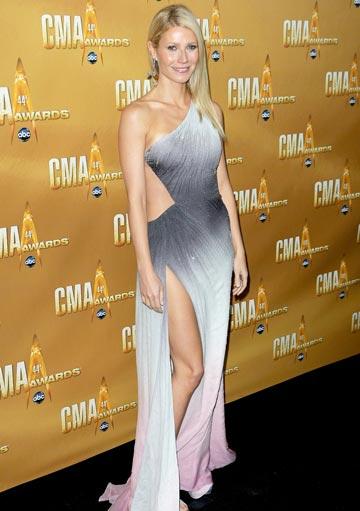 Gwyneth Paltrow a impresionat publicul la Country Music Awards