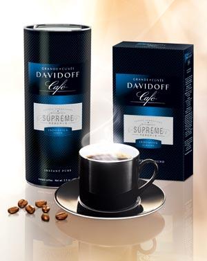 "Noua editie limitata DAVIDOFF CAFÉ ""Suprême Réserve"""