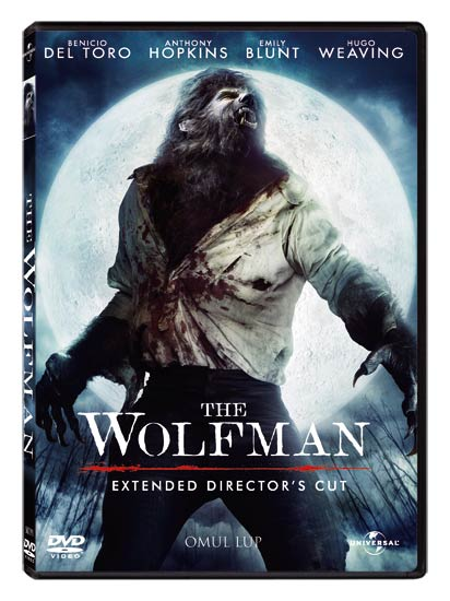 """""""The Wolfman"""", disponibil pe DVD"""