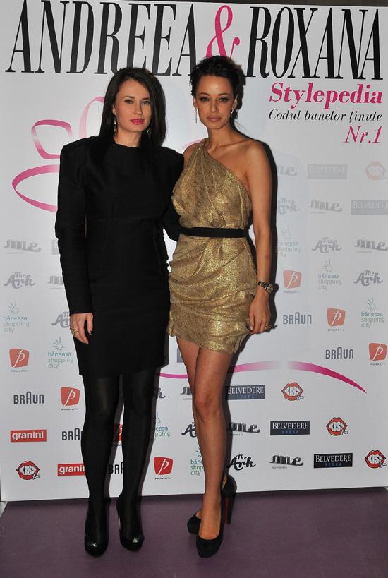 Andreea Raicu si Roxana Voloseniuc au lansat Stylepedia – Galerie foto