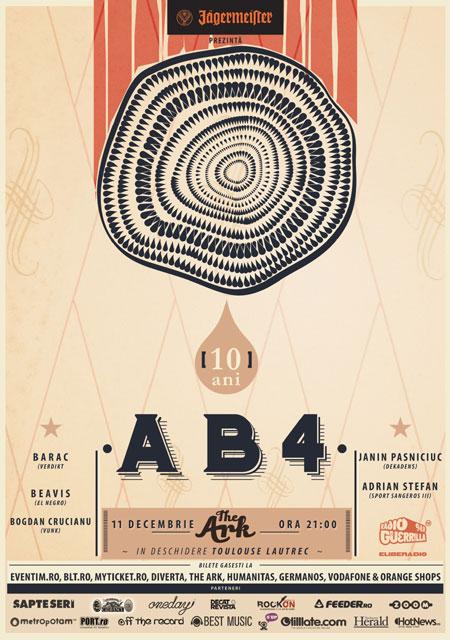 AB4 – concert aniversar 10 ANI