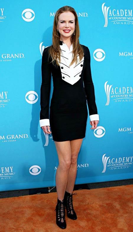 Nicole Kidman nu tine cont de moda