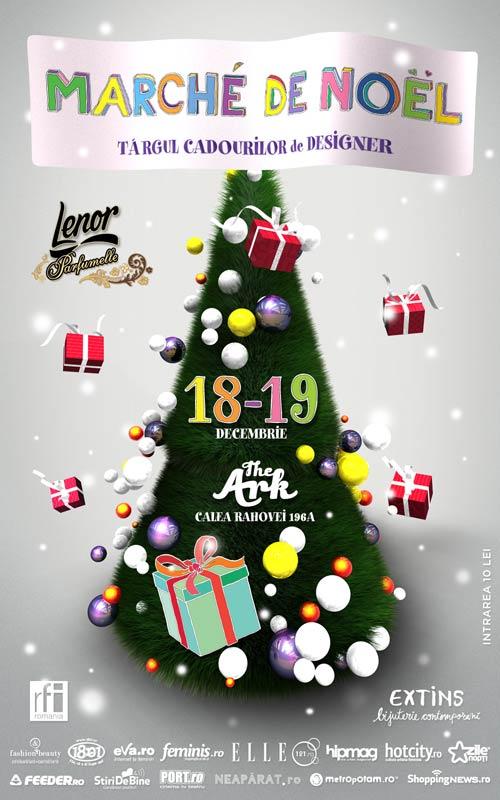 Marché de Noël – Targul cadourilor de designer