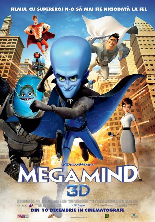 Megamind 3D – din 10 decembrie in cinematografe