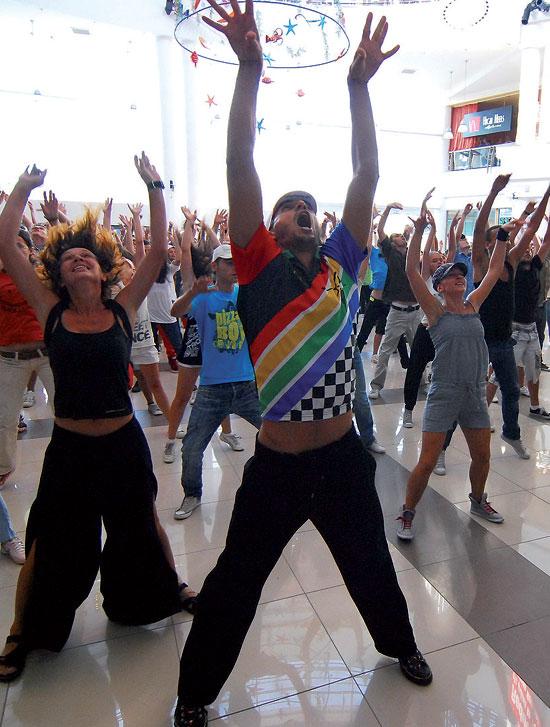 Flashmob – noua distractie urbana