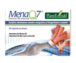 Mena Q7 Vitamina K2 naturala de la PlantExtrakt