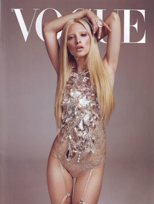 I.D. Sarrieri pe coperta calendarului Vogue
