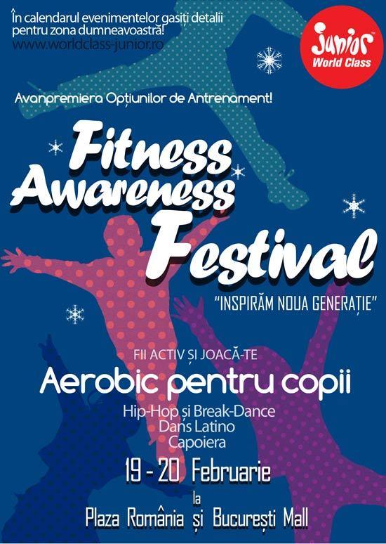"World Class Romania prezinta  ""Fitness Awareness Festival"""