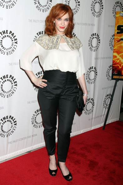 Christina Hendricks, model pentru Vivienne Westwood