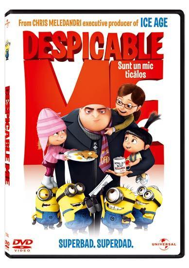 """""""Despicable Me"""", lansat pe DVD"""