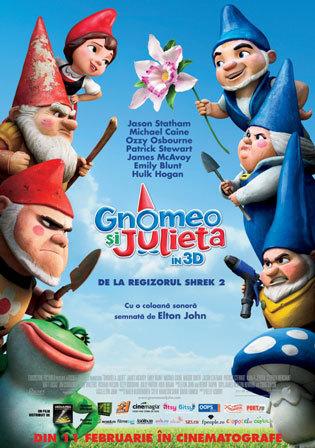 Gnomeo si Julieta 3D