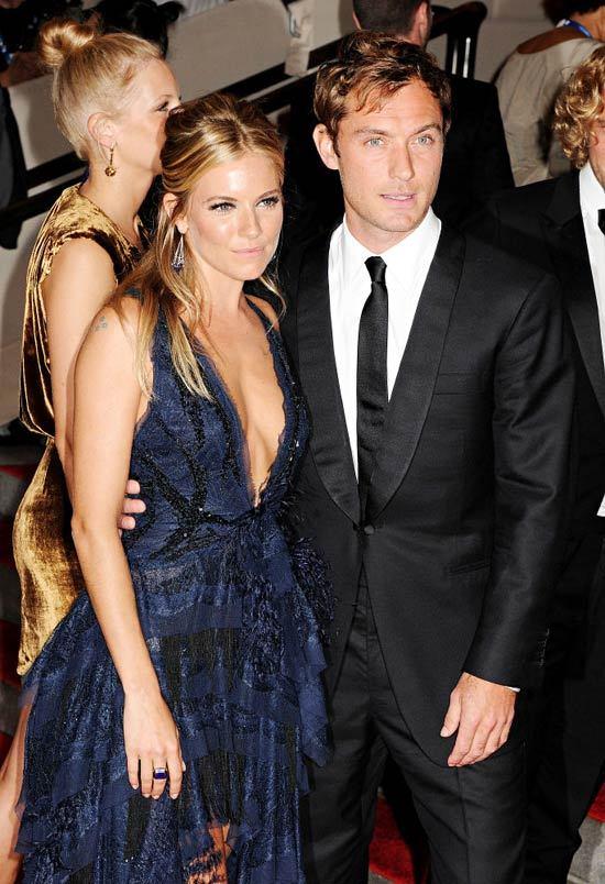 Jude Law si Sienna Miller s-au despartit