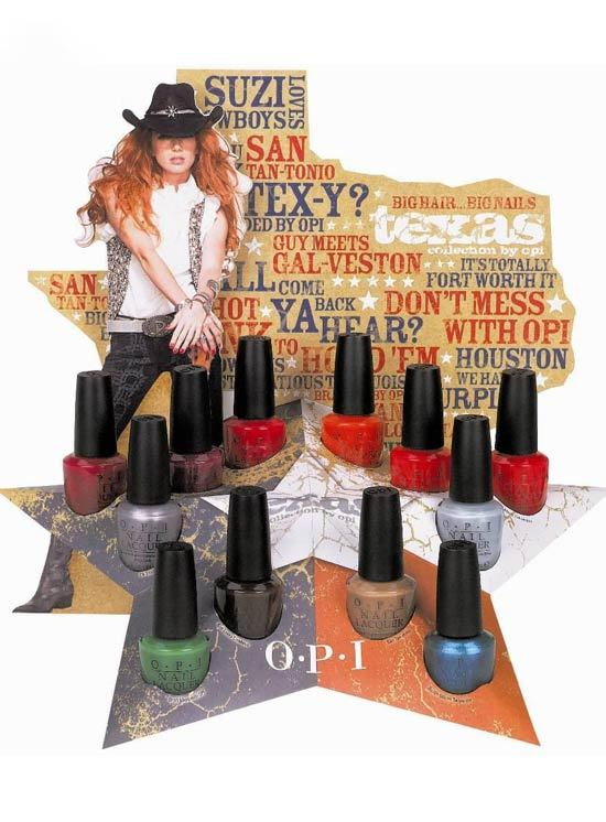 "Fii ""Texy"" cu noua colectie ""Texas"" by OPI"