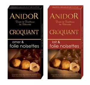 Ciocolata Anidor cu alune intregi