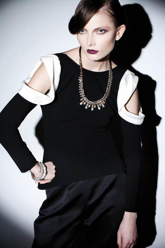 Editorial fashion: Un look glam