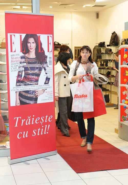 Bata a lansat colectia de primavara-vara impreuna cu Revista Elle
