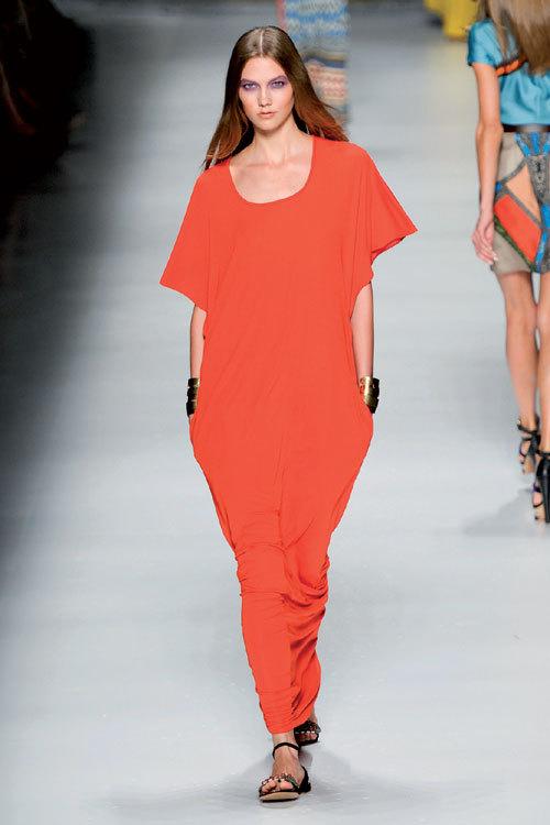 Tendinte moda primavara-vara: Portocaliu