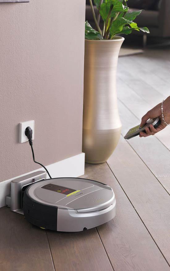 Philips HomeRun – aspiratorul robot care face curatenie singur
