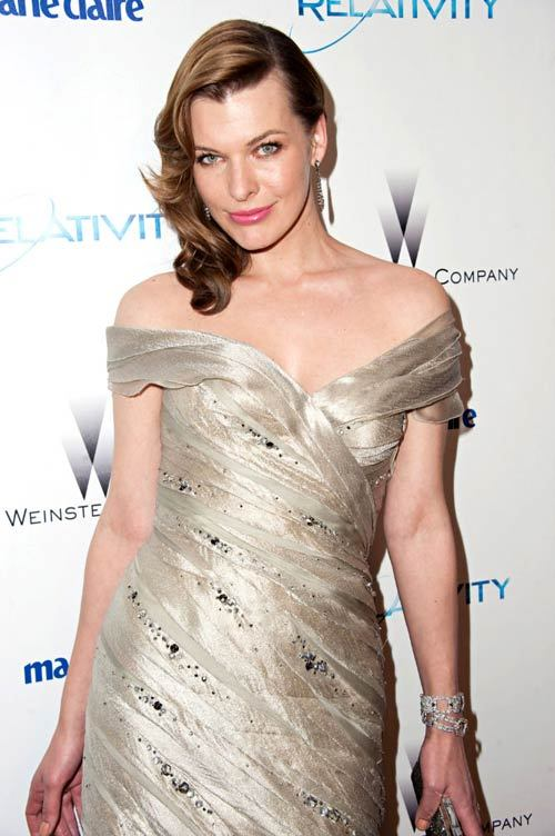 Milla Jovovich, noua imagine Jacob and Co.