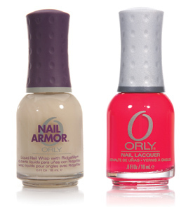 Orly Nail Armour si oja PassionFruit