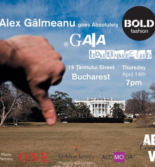Alex Galmeanu goes Absolutely BOLD