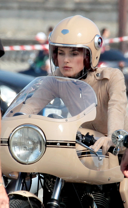 Making of Coco Mademoiselle Chanel. Protagonista: Keira Knightley