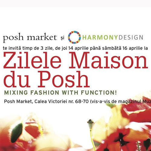 Posh Market&Harmony Design – mixing fashion with function!