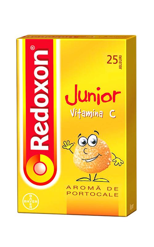 Pune accentul pe Vitamina C, cu Redoxon Junior de la Bayer