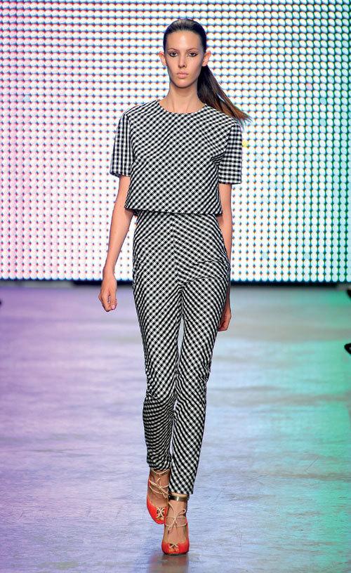 Tendinte moda primavara vara: Geometrie