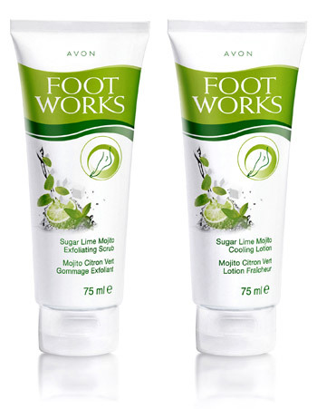 Gama Foot Works cu lamaie si menta pentru ingrijirea picioarelor