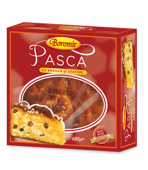 Pasca traditionala cu branza dulce si stafide de la Boromir